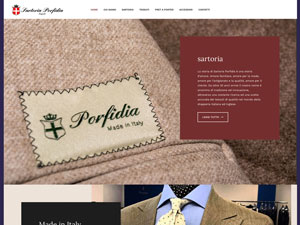 Sartoria Porfidia website