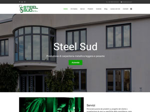 Steel Sud website
